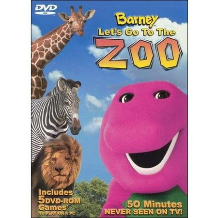 Barney - Let's Go to the Zoo - The Cincinnati Zoo Halloween