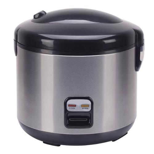10-cups Rice Cooker with Stainless Body