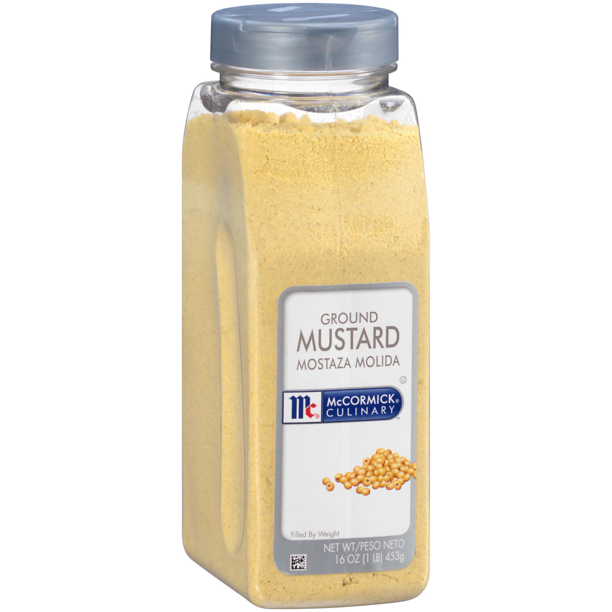 McCormick Culinary Ground Mustard, 1 lb