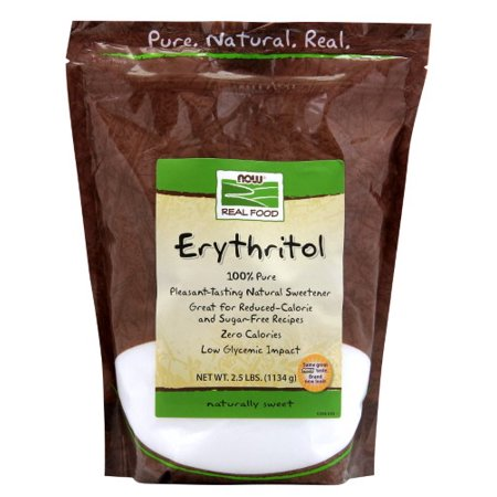 NOW Foods 100% Pure Erythritol Crystalline Now Foods, 2.5