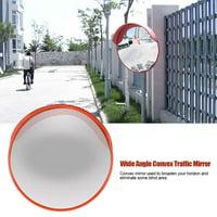Yosoo 60cm Wide Angle Driveway Road Safety Convex Traffic Mirror Includes Mounting Bracket & Screw, Road Safety Mirror, Convex Traffic Mirror