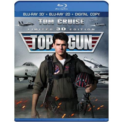 Top Gun (Special Collector's Edition) (3D Blu-ray + Blu-ray + Digital Copy) (With INSTAWATCH) (Widescreen)