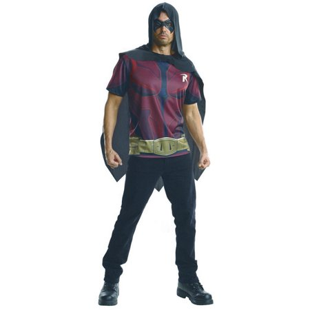 Adult Robin Batman Costume Shirt by Rubies 884843