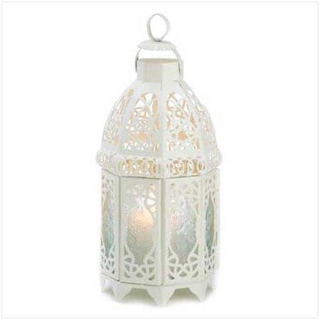 100 White Lattice Lantern - image 1 de 1