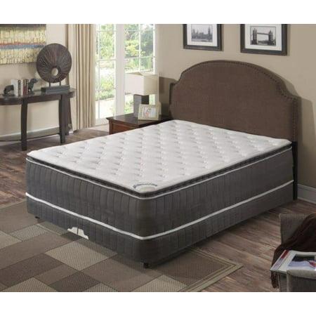 - Continental Mattress,Pillow Top ,Pocketed Coil, Innerspring Mattress, King Size