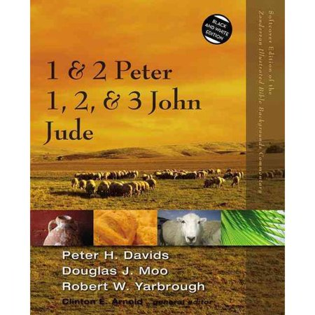 1 & 2 Peter, 1, 2, & 3 John, Jude: Black and White Edition by