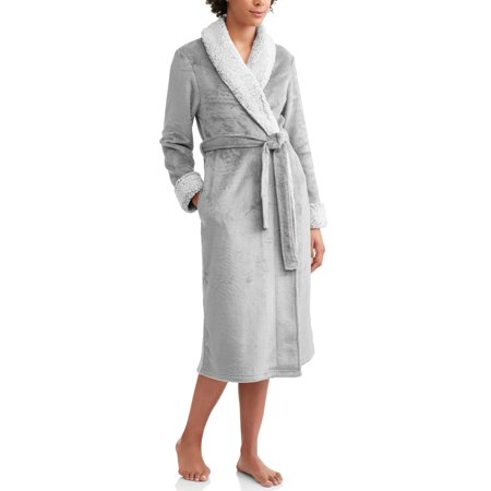 Secret Treasures - Secret Treasures Women s and Women s Plus Superminky Robe  - Walmart.com 210da8afa