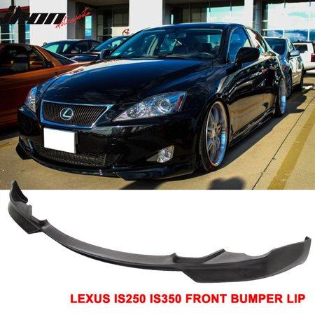 Fits 06-08 Lexus IS250 IS350 IK Style Poly Urethane Front Bumper Lip Spoiler