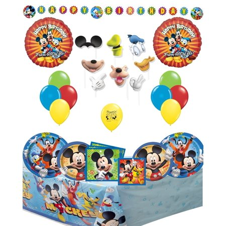 Mickey Mouse Clubhouse Party Supplies and Room Decoration Bundle](Usc Party Supplies)