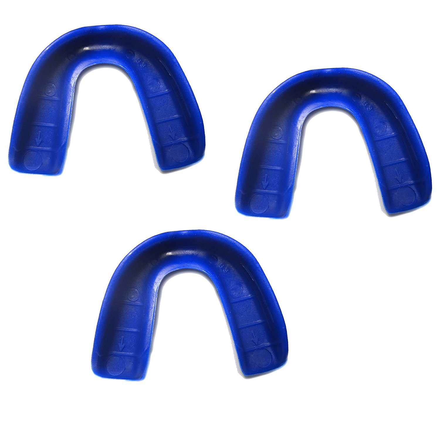 3 Pack! SafeTGard Adult Form Fit Super Mouthguard without Strap (Available in 12 Colors)