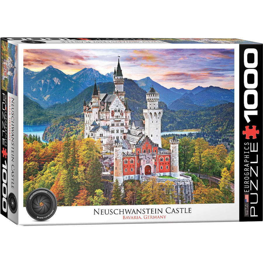 Neuschwanstein 1000-Piece Puzzle by EuroGraphics