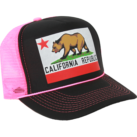 New CALIFORNIA REPUBLIC ORIGINAL SNAPBACK HAT Cali Bear CA State Flag Cap