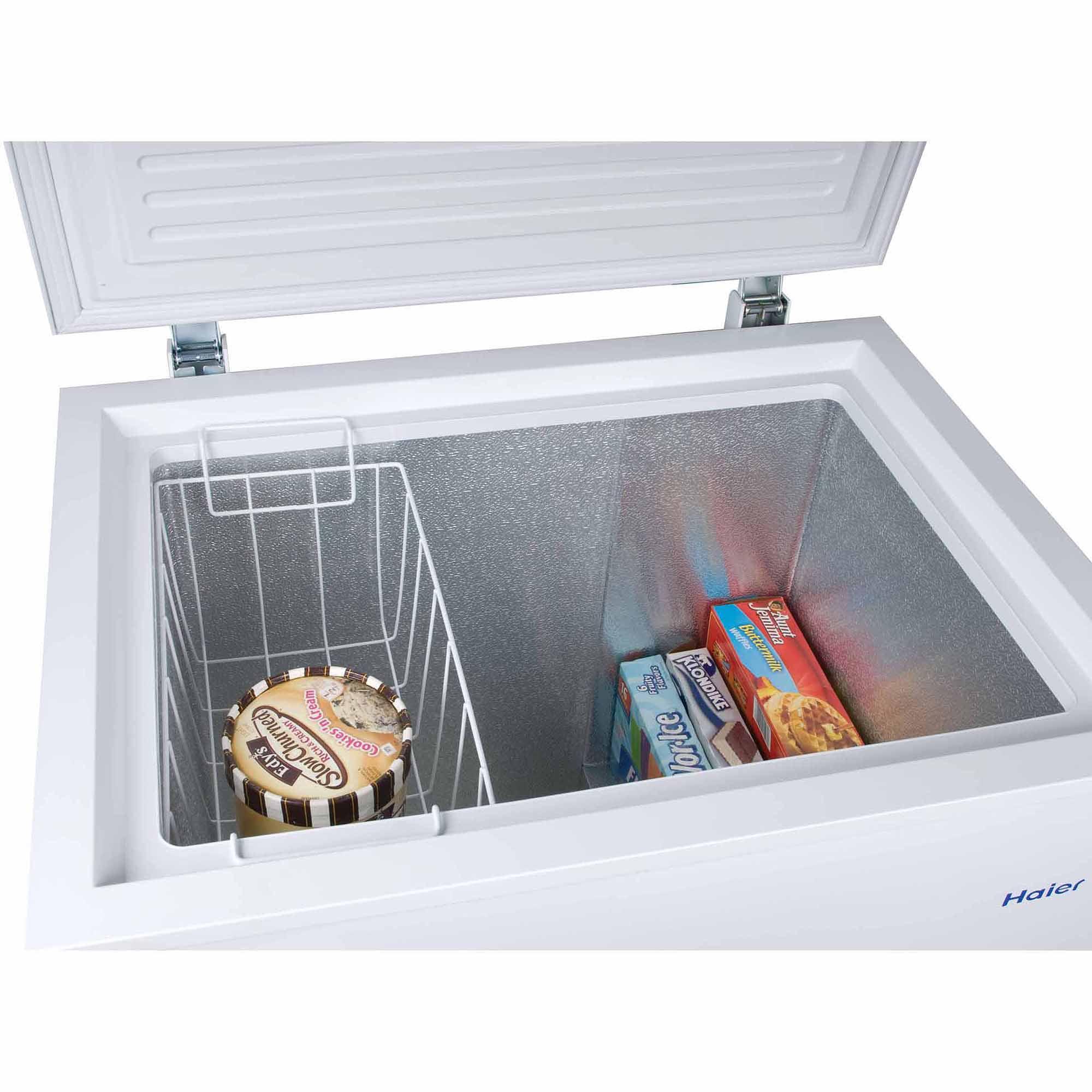 Haier 50 cu ft Capacity Chest Freezer White HF50CW20W Walmartcom