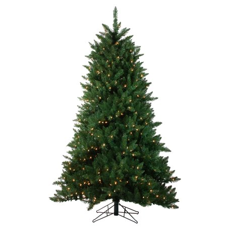 9' Pre-Lit Medium Montana Pine Artificial Christmas Tree - Clear Lights - image 2 of 2