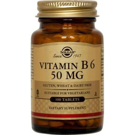 Solgar Vitamin B6 50 mg - 100 Tablets