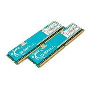 G.Skill DDR2 Series F2-6400CL4D-4GBPK - DDR2 - 4 GB : 2 x 2 GB - DIMM 240-pin - 800 MHz / PC2-6400 - CL4 - 2.0 - 2.1 V - unbuffered - non-ECC