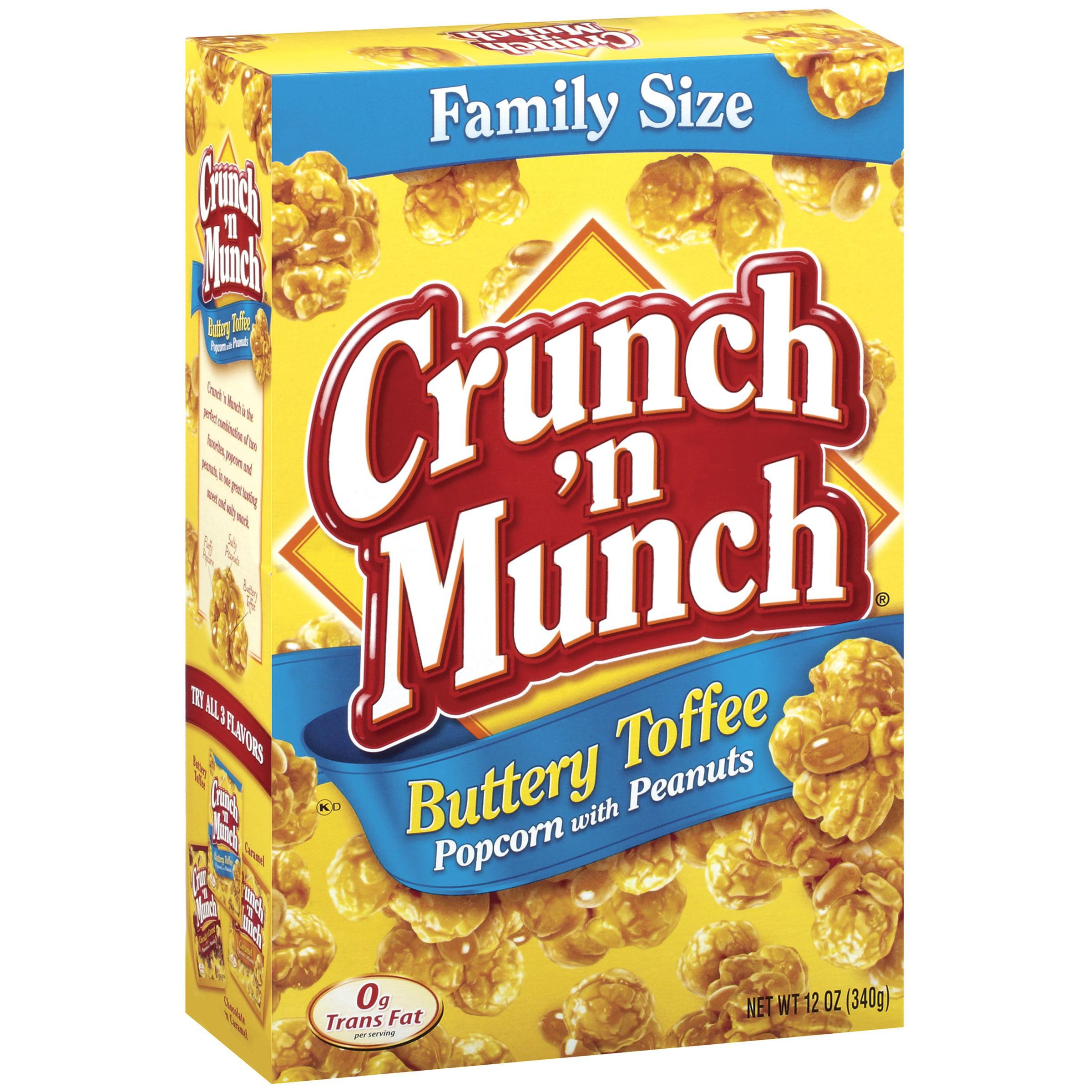 Crunch 'n Munch Buttery Toffee W Peanuts Popcorn 12 Oz Box by ConAgra Foods Inc.