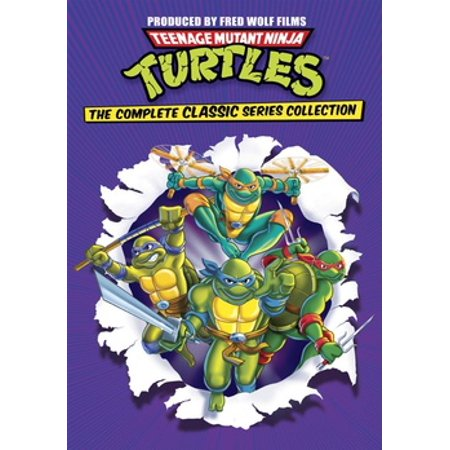 The Teenage Mutant Ninja Turtles (Teenage Mutant Ninja Turtles: The Complete Classic Series Collection)