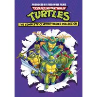 Teenage Mutant Ninja Turtles: The Complete Classic Series Collection DVD