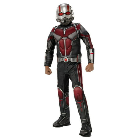 Marvel Ant-Man and The Wasp Deluxe Ant-Man Boys Halloween Costume - 11 Year Old Boy Halloween Costumes Ideas