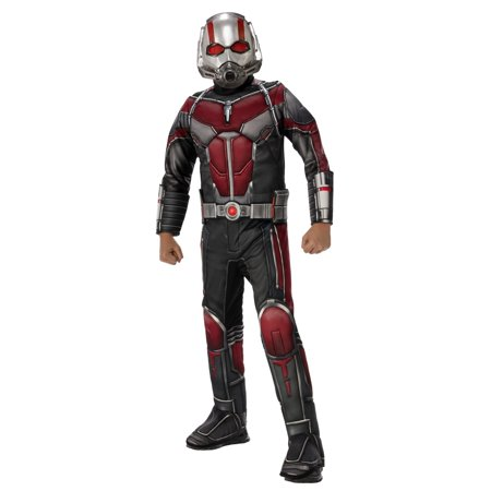 Marvel Ant-Man and The Wasp Deluxe Ant-Man Boys Halloween Costume - Vault Boy Halloween Costume