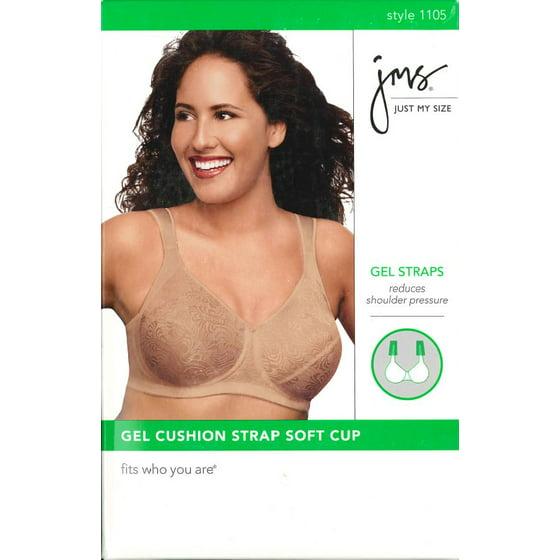 a3860801b Just My Size - Jms Gel Cushion Strap Bra - Walmart.com