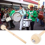 Durable Bass Drum Mallet Stick with Wool Felt Head Percussion Marching Band Accessory Percussion Drum Mallet Felt Mallet