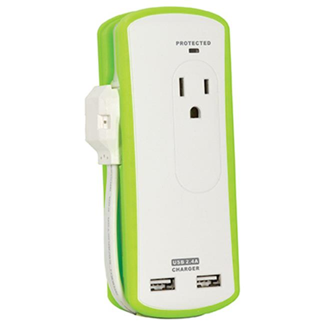 Audiovox PC2U20 2 USB Travel Surge Protector