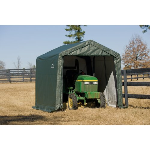 10' x 8' x 8' Peak Style Shelter, Green by ShelterLogic