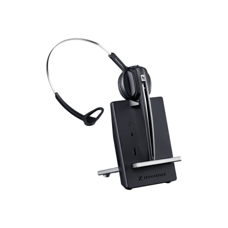 Sennheiser D 10 Streamlined Single-Sided Wireless DECT Phone Headset ()