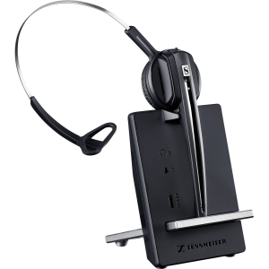 Sennheiser D 10 Streamlined Single-Sided Wireless DECT Phone Headset