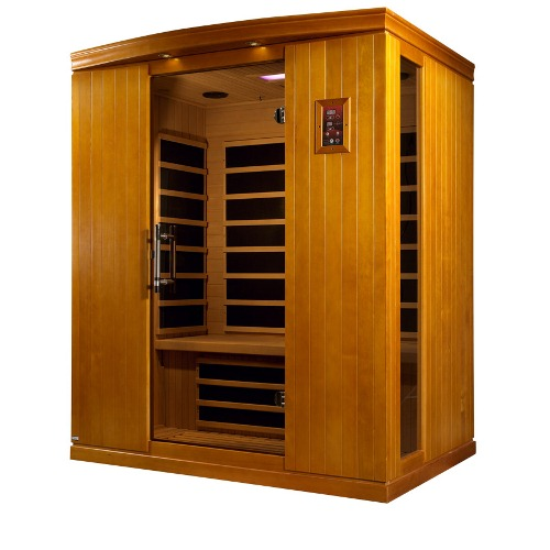 Dynamic Saunas Madrid II 3 Person Infrared Sauna by