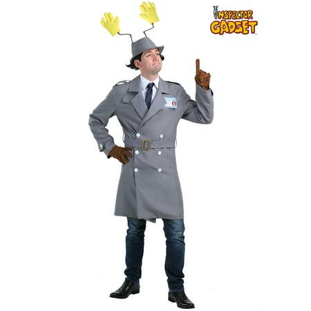 Inspector Gadget Plus Size Mens Costume](Inspector Gadget Costume)