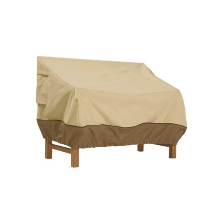 "Classic Accessories Veranda Patio Bench and Loveseat Furniture Storage Cover, fits up to 76""L x 32.5""W"