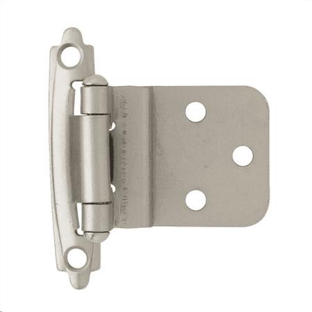 Liberty H0104AC-SN-O2 3/8-Inch Self-Closing Inset Hinge, 2-Pack ()