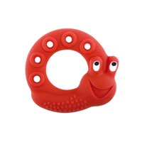 MAM Baby Toys, Teething Toys, Lucy the Snail 100% Natural Rubber Developmental Teether Toys, Friends Collection, 2+ Months, Unisex, 1-Count