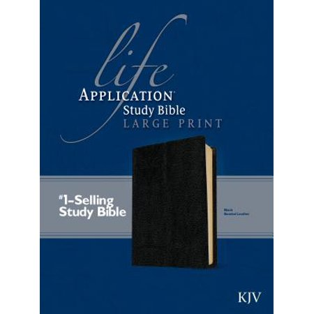 KJV Life Application Study Bible, Second Edition, Large Print (Red Letter, Bonded Leather, (Chords 2nd Edition)