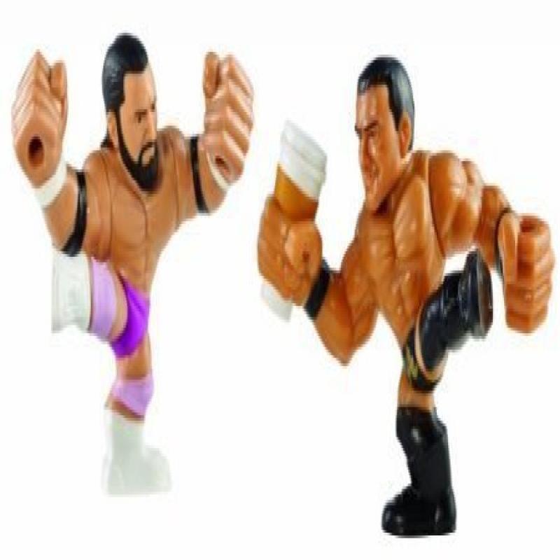 WWE Rumblers Slam City Damien Sandow and Alberto Del Rio ...