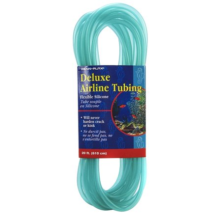 Penn Plax Deluxe Airline Tubing - Flexible Silicone 20' Long
