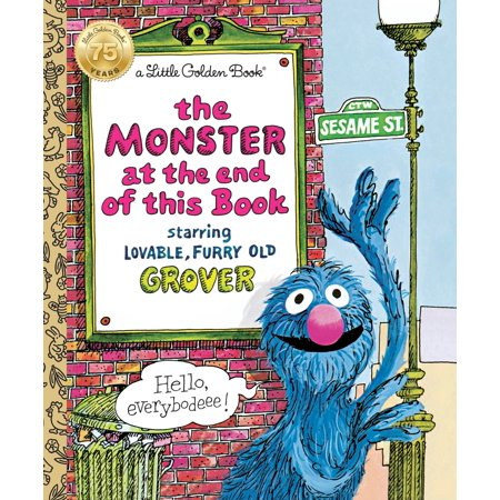 The Monster at the End of This Book (Sesame Book) (Hardcover)