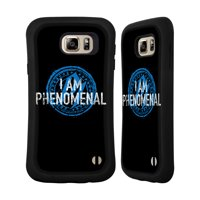OFFICIAL WWE AJ STYLES HYBRID CASE FOR SAMSUNG PHONES