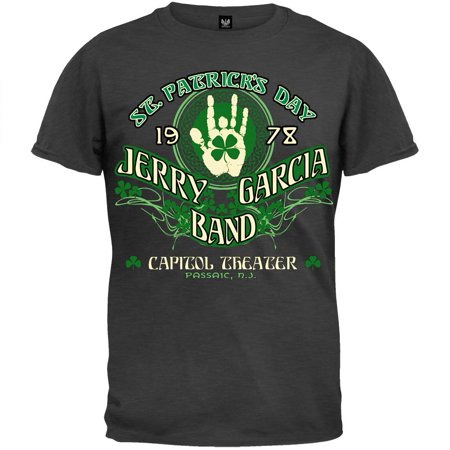 Jerry Garcia - JGB St. Patrick's Day T-Shirt