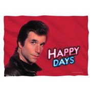 Trevco CBS1494-PLO1-0 Happy Days-Red Fonz - Pillow Case, White - 20 x 28 in.