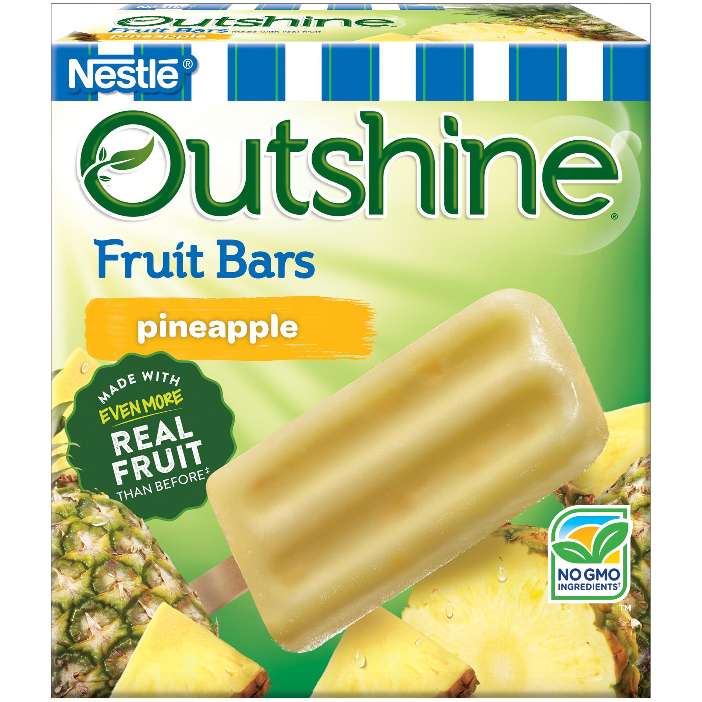 Outshine Fruit Bars, Pineapple 6 ct Box