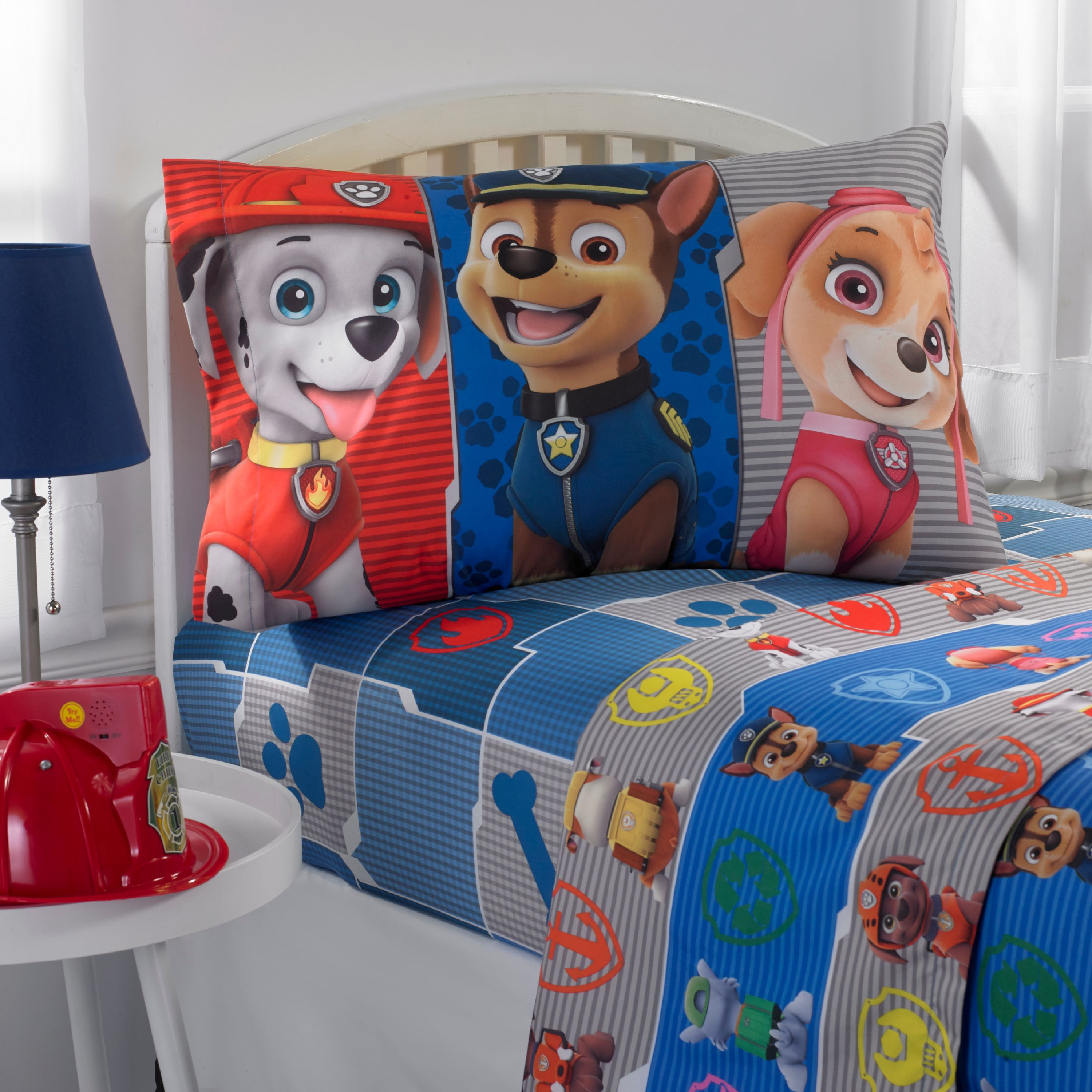 Paw Patrol Gang's All Here Kids Bedding Twin Sheet Set, 1 Each