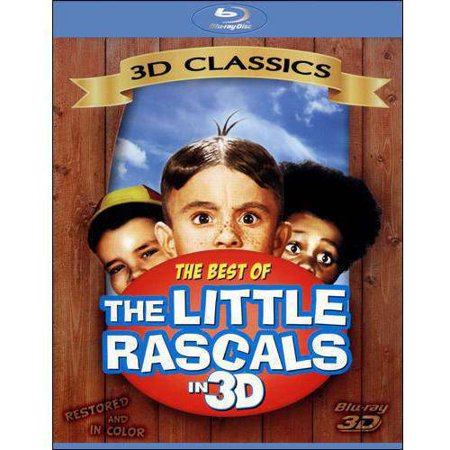 Little Rascals: Best Of Our Gang (3D Blu-ray)