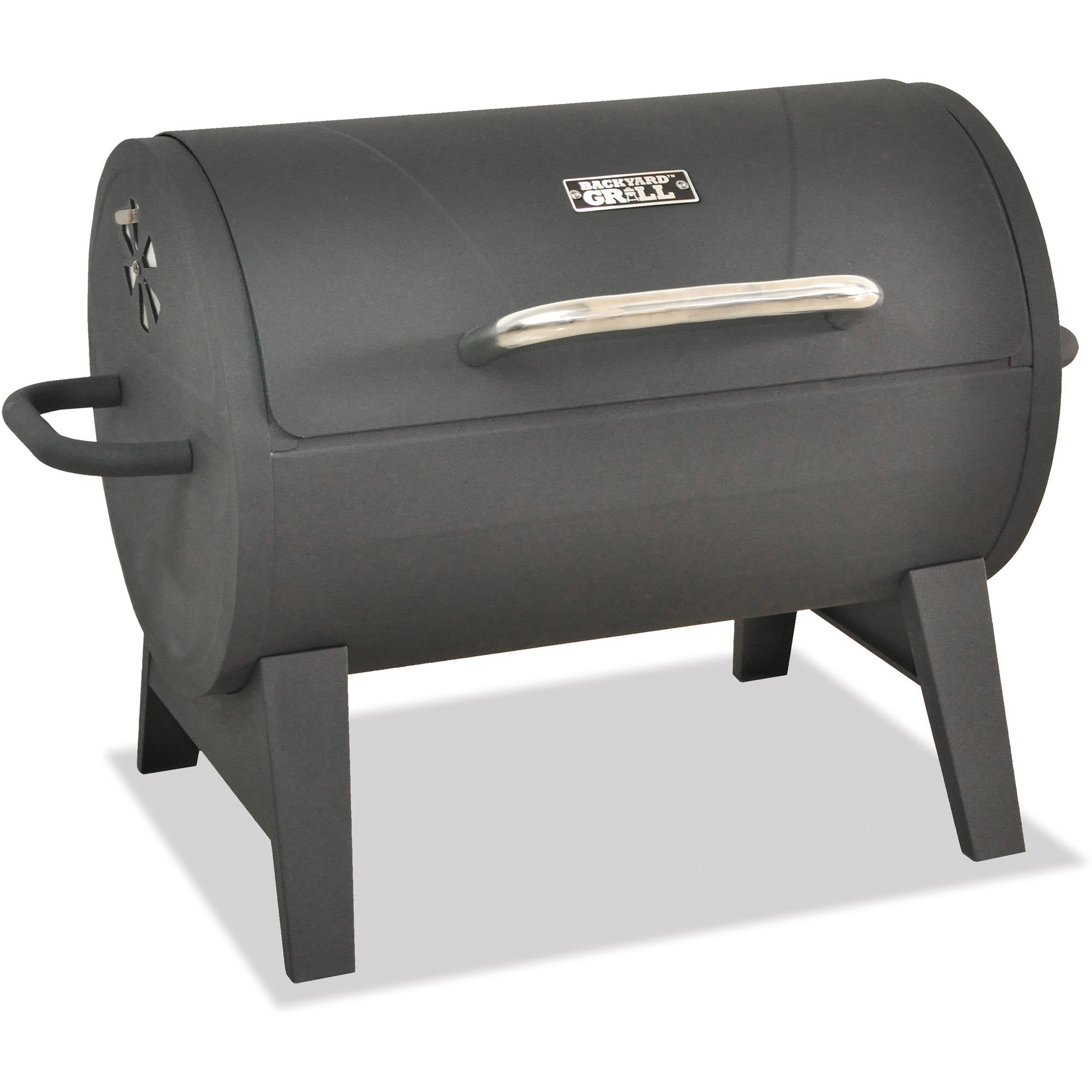 Backyard Grill Barrel Charcoal Grill   Walmart.com