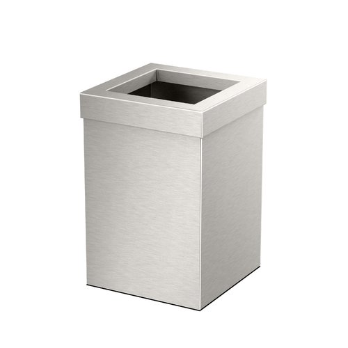 Gatco Elevate Stainless Steel Open Waste Basket by