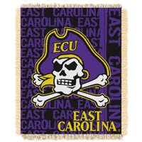 """ECU Pirates The Northwest Company College Double Play 46"""" x 60"""" Woven Blanket"""