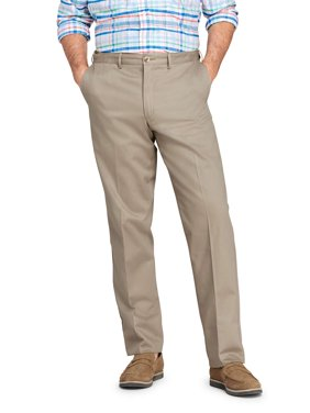 Lands' End Men's Plain Comfort Waist No-Iron Chino Pant